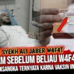 Benarkah Syekh Ali Jaber meninggal karena disuntik vaksin Sinovac?