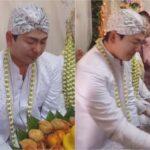 Pacaran 2 Tahun Gak Pernah Jumpa Sekali Ketemu Langsung Nikah, Pengantin Pria Nangis