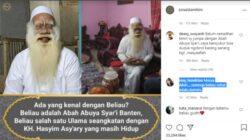 Abah Abuya Syar'i, Ulama Banten Berumur 154 Tahun Mengaku Seangkatan dengan Kiai Hasyim Asy'ari