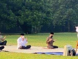 Gegara Cuitan Ada Muazin di Salat Idul Adha, Akun Jokowi Ramai Dicibir Warganet