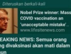 Benarkah Semua Orang yang Sudah Vaksin Covid-19 Akan Mati dalam 2 Tahun?