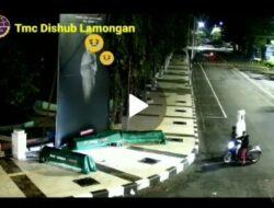 Polisi Selidiki Pencurian Pocong di Alun-alun Lamongan yang Terekam CCTV