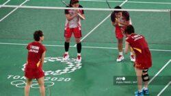 Ganda Putri Indonesia Hajar Ganda Putri Peringkat 1 Dunia Di Olimpiade Tokyo