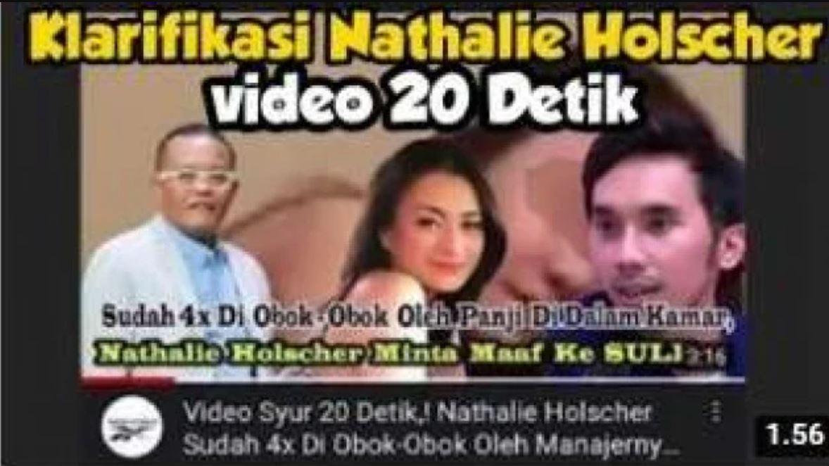 Heboh, Tersebar Link Video 20 Detik Mirip Nathalie Istri Sule dan Seorang Pria