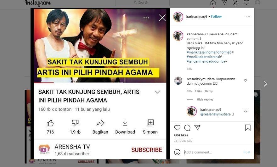 Epy Kusnandar Kang Mus Dikabarkan Pindah Agama, Istri Beri Bukti Tak Terbantahkan
